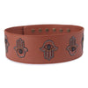 Image of Hamsa handcrafted belt by Gonecase
