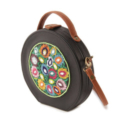 Garden Handpainted Sling Bag