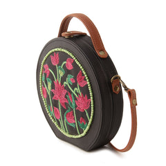 Pichwai Handpainted Sling Bag