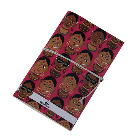 Desi Girl Printed Diary ,diary, gonecasestore - gonecasestore