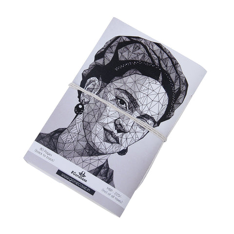 Frida Face Diary ,diary, gonecasestore - gonecasestore