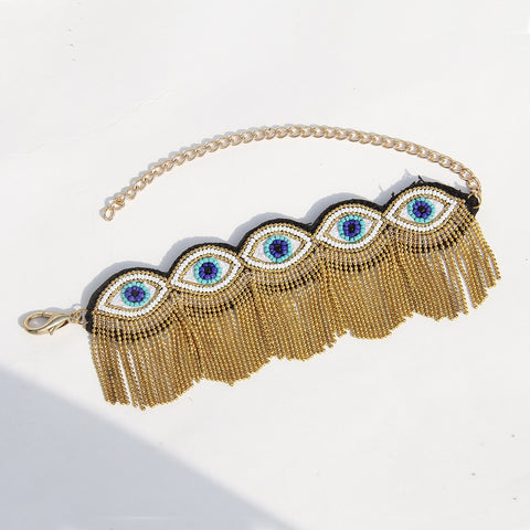 Evil Aankh Choker by gonecase ,, GoneCase - gonecasestore