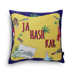 Ja Hash Kar Cushion Cover