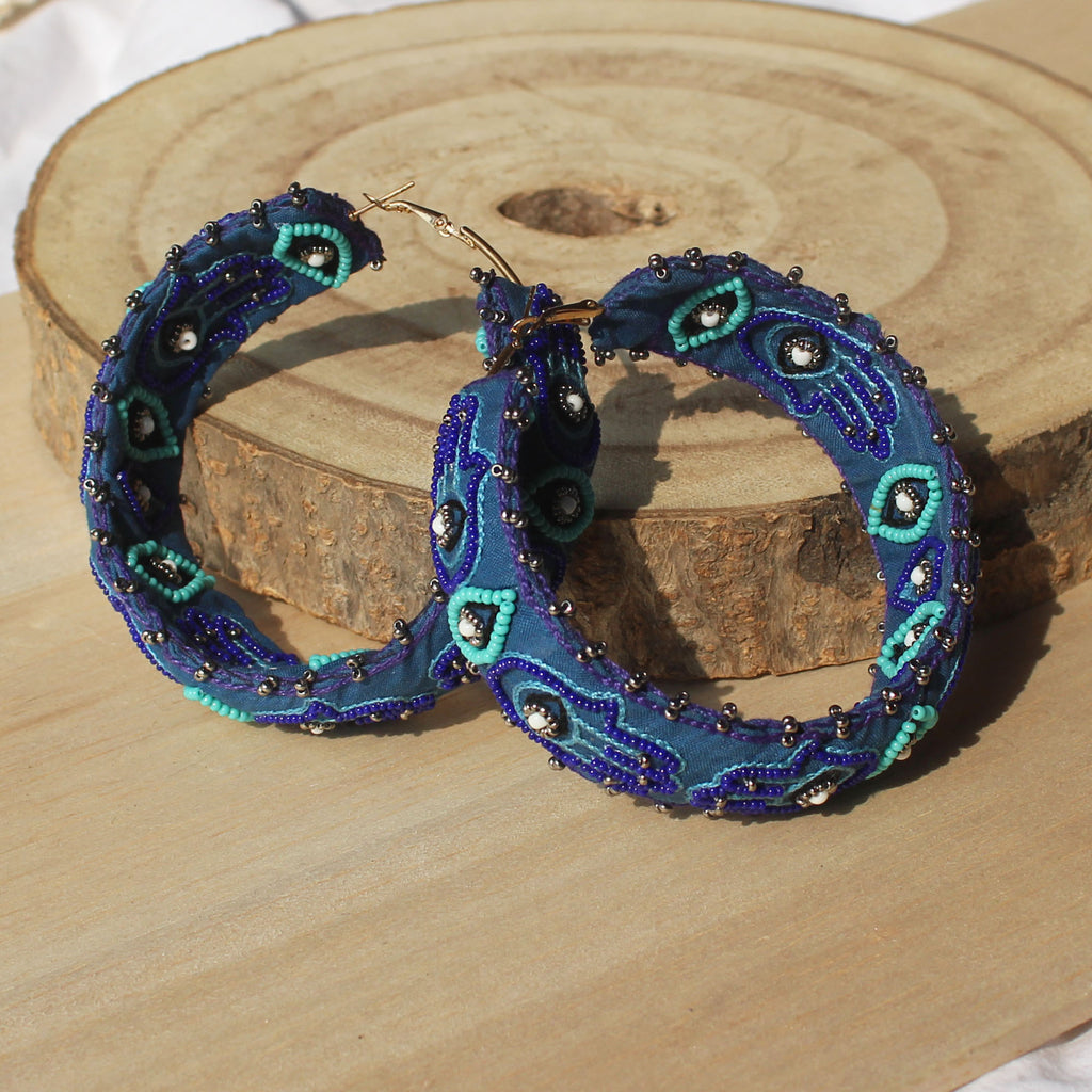 Hamsa Hoops by Gonecase