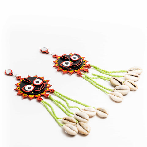 Jagganath Earrings ,Earrings, gonecasestore - gonecasestore