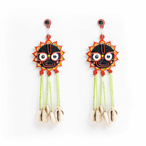 Jagganath Earrings - gonecasestore