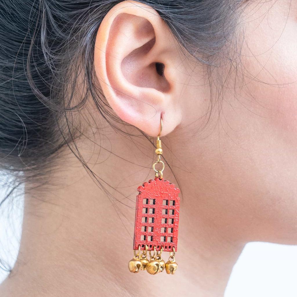 Window Earrings ,Earrings, gonecasestore - gonecasestore
