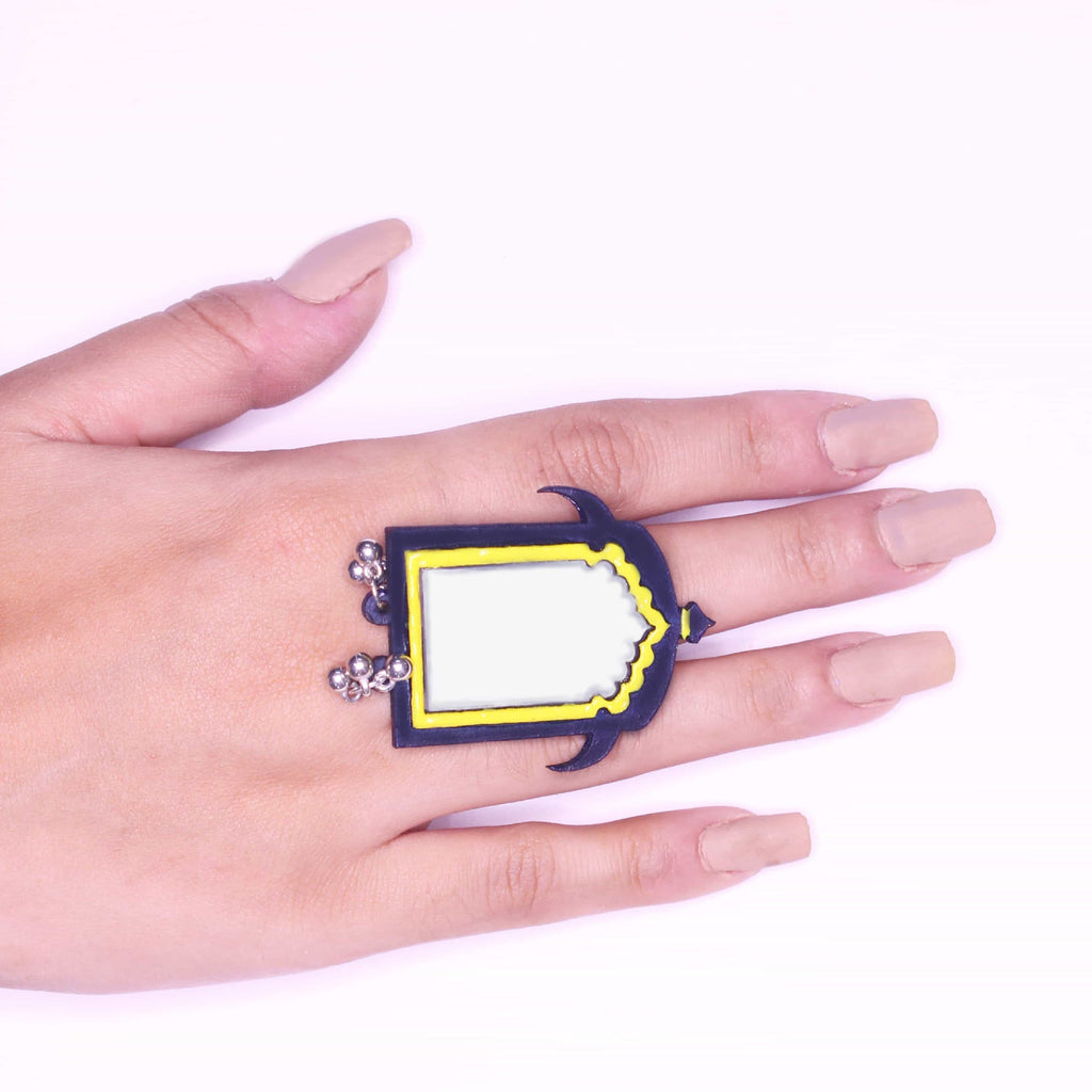 Kaanch Sa Dil Ring - [product_type] - Gonecase