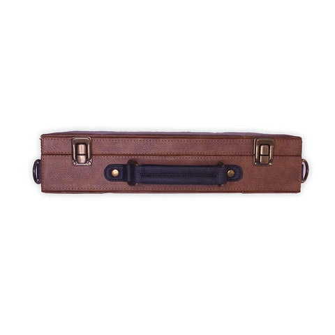 Brown Laptop Hard Case by Gonecase