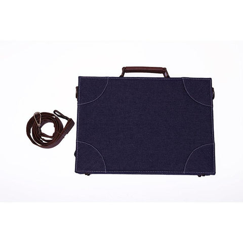 Denim Laptop Hard Case by Gonecase
