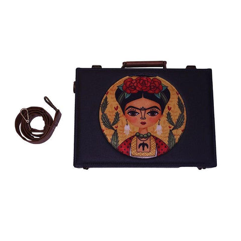 Frida Laptop Hard  Case  by Gonecase - gonecasestore