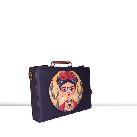 Frida Laptop Hard  Case  by Gonecase ,laptop bags, gonecasestore - gonecasestore