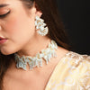 Image of Rooh Teal Wedding Set