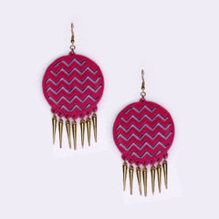 Pink Spikes by Gonecase ,Earrings, gonecasestore - gonecasestore