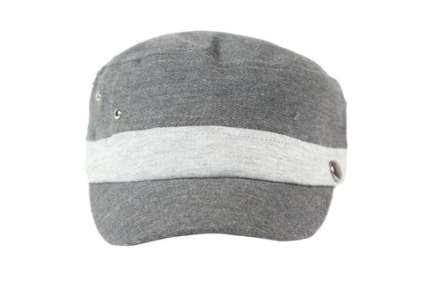 FabSeasons Dark Grey Cotton Cap