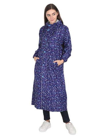 Fabseasons DarkBlue Reversible Long - Adjustable Hood & Reflector at back
