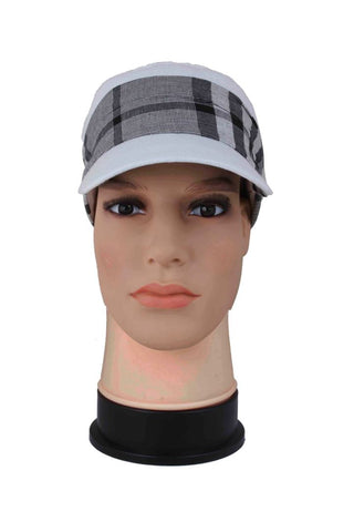 FabSeasons White Cotton Cap for Women