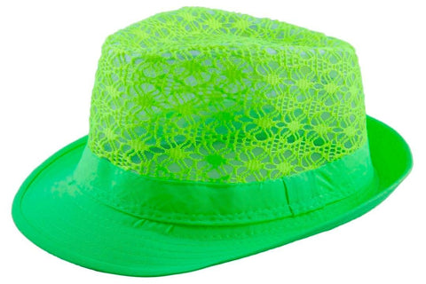 FabSeasons Neon  Fedora Hat for Women