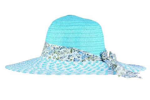 FabSeasons Blue Beach Hat For Women