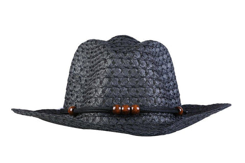 Fabseasons Black Beach Hat For Women