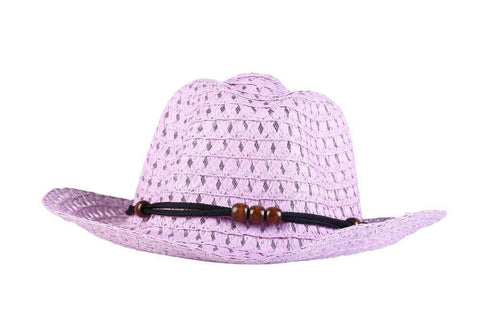 Fabseasons Purple Beach Hat For Women