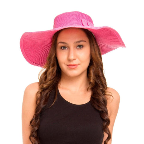 Sun Hat with Long Brim for Women