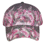 Abstract Printed Cap