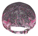Fabseasons Abstract Printed Pink Cap