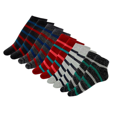 Cotton Extra Low Cut Socks, Combo of 5 pairs