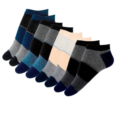 Fabseasons Cotton Extra Low Cut Socks, Combo of 4 pairs