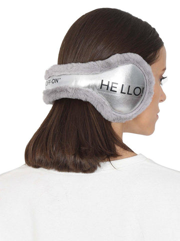 FabSeasons Winter Outdoor HELLO Ear Muffs
