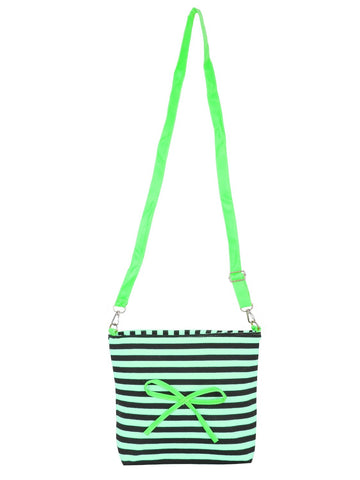 FabSeasons Green Sling cross cloth Bags