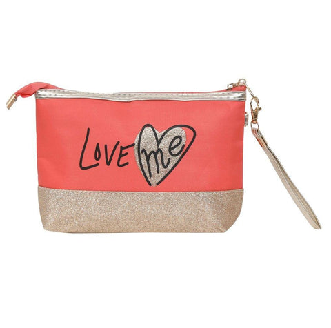 FabSeasons Large LoveMe Peach Toiletry-Makeup Bag- Pouch