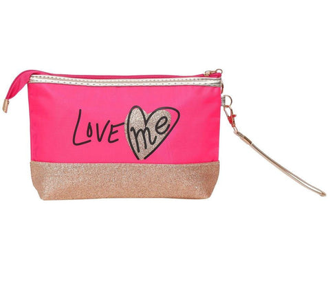 FabSeasons Large LoveMe Pink Toiletry-Makeup Bag- Pouch
