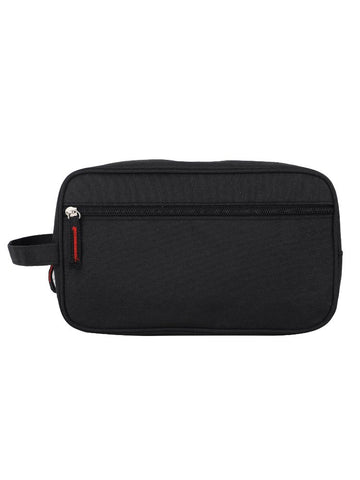FabSeasons Unisex Black Toiletry, Travel, Makeup Pouch , Kit Organizer