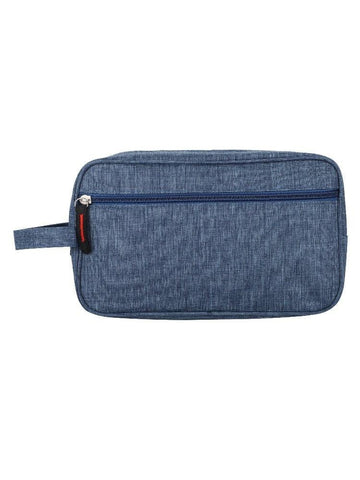 FabSeasons Unisex Blue Toiletry, Travel, Makeup Pouch , Kit Organizer