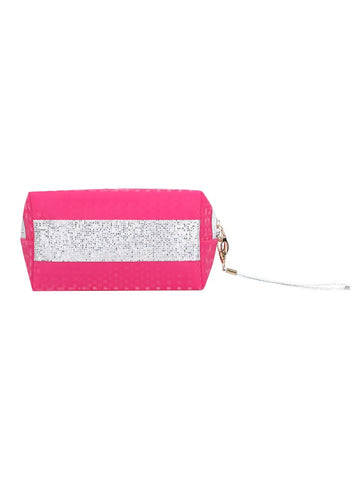 FabSeasons Pink Small Handy Toiletry/Travel/Makeup Pouch