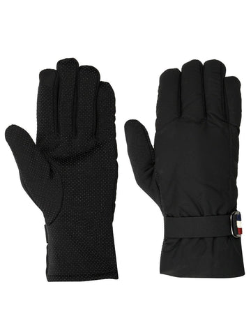 FabSeasons Unisex Solid Winter Black Gloves with Fleece cloth