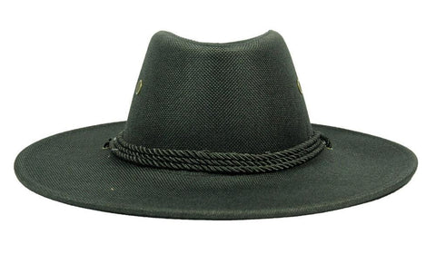 FabSeasons Black Casual Long Brim Cowboy Hat