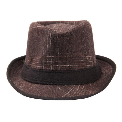Fabseasons Brown Casual Fedora Hats