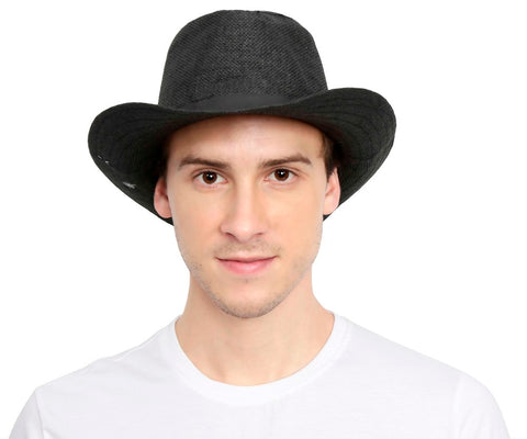Fabseasons Black Casual Hats
