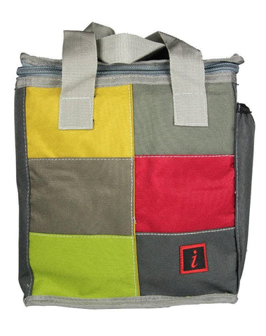FabSeasons Green Squared Lunch Bag