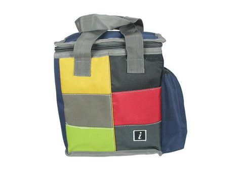 FabSeasons Red Squared Lunch Bag