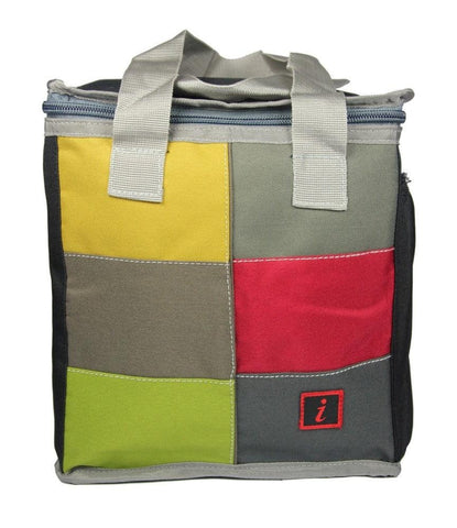 FabSeasons Yellow Squared Lunch Bag