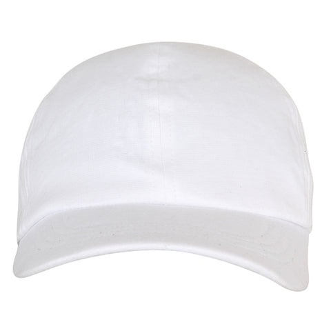 Fabseasons White Cotton Unisex Summer Cap