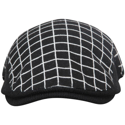 Checkered Unisex Golf Flat Cap