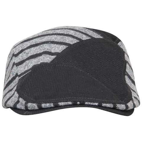 Fabseasons Grey Strips Designed Unisex Golf Flat Cap