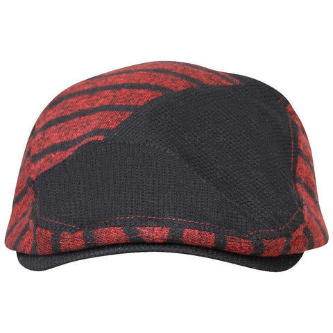Fabseasons Red Strips Designed Unisex Golf Flat Cap