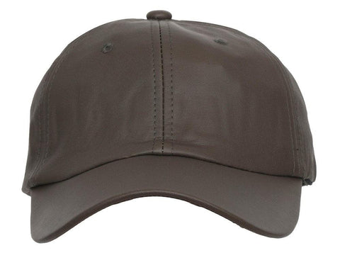 Fabseasons Brown Solid casual Unisex Baseball cap