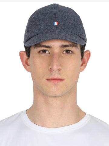 FabSeasons Lightblue Solid Short Peak Cotton Baseball / Summer cap